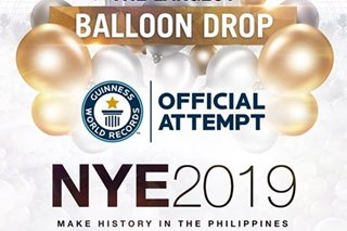DENR to meet organizer of bashed New Year's Eve balloon drop event