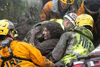 13 killed in California mudslide