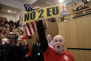 British lawmakers approve landmark Brexit bill