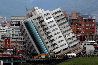 Rescuers brave aftershocks to pull bodies from Taiwan tower