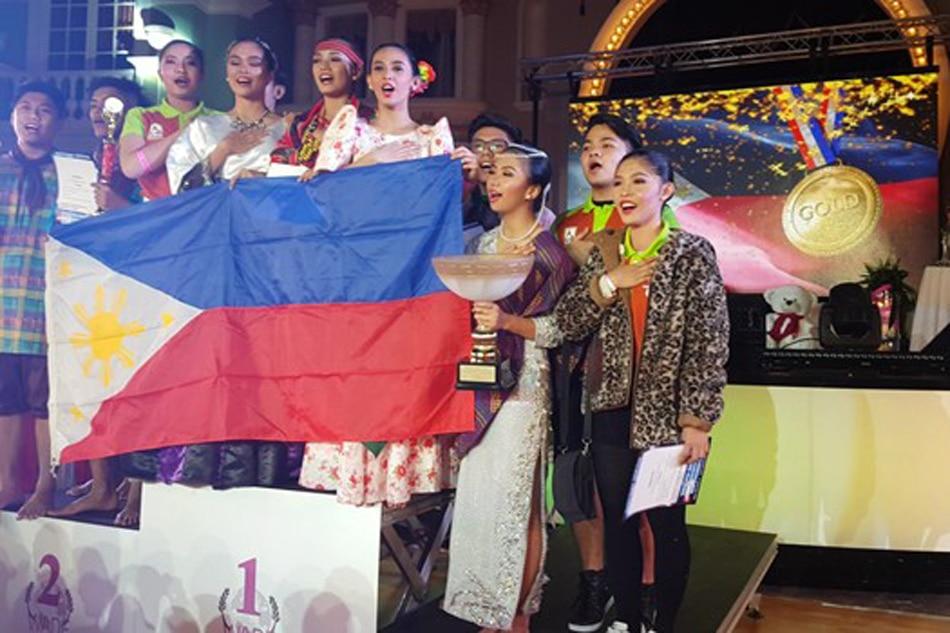 Pinoy dancers, wagi sa dance competition sa Russia