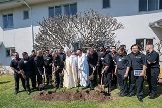 LA Archdiocese blesses, breaks ground on new seminary