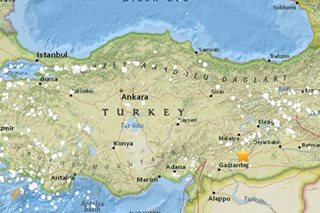 Quake in southeast Turkey injures 39 - state news agency