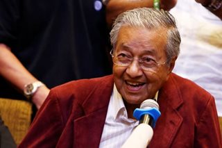 Malaysia wants to be friendly, not indebted, to China, says Mahathir