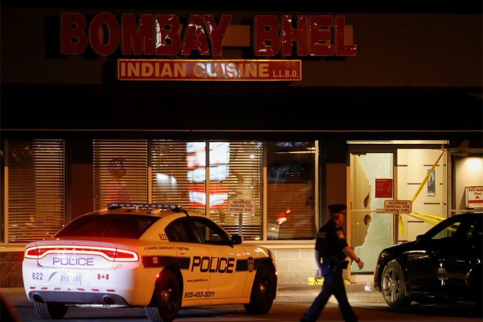 Police Seeking Two Suspects After Bombing of Indian Restaurant in Canada