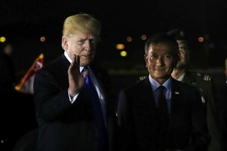 Trump in Singapore for historic summit