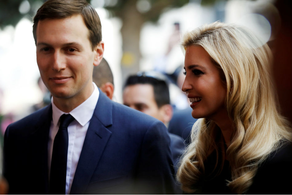 Ivanka Trump, Jared Kushner made $82 million in 2017