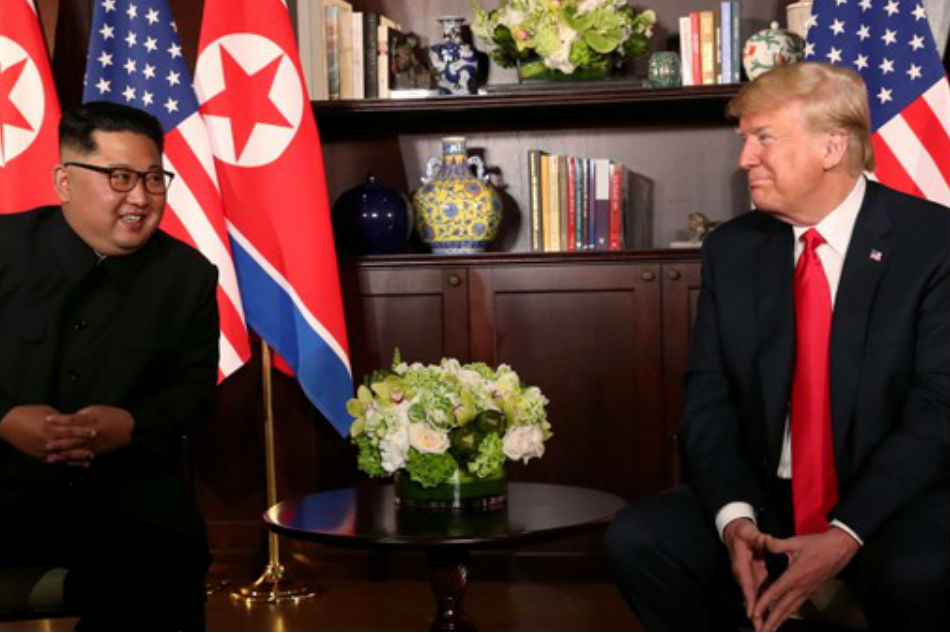 MAKING HISTORY: President Trump Meets North Korean Leader Kim Jong Un