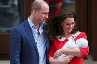 Britain's Prince Louis to be christened next month