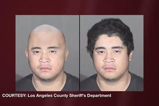 Pinoy murder suspect arrested at movie theater in California