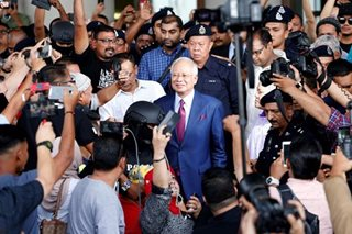 Ex-Malaysian PM Najib charged with corruption