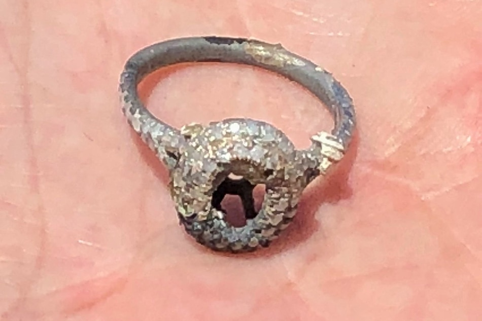 Man proposes with ring found in the ashes of their California home