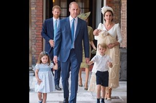 Britain's Prince Louis christened without Queen