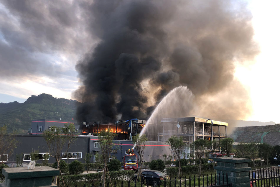 Blast in Sichuan kills 19, injures 12