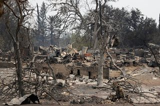 Fil-Am's house, cars destroyed in California wildfire