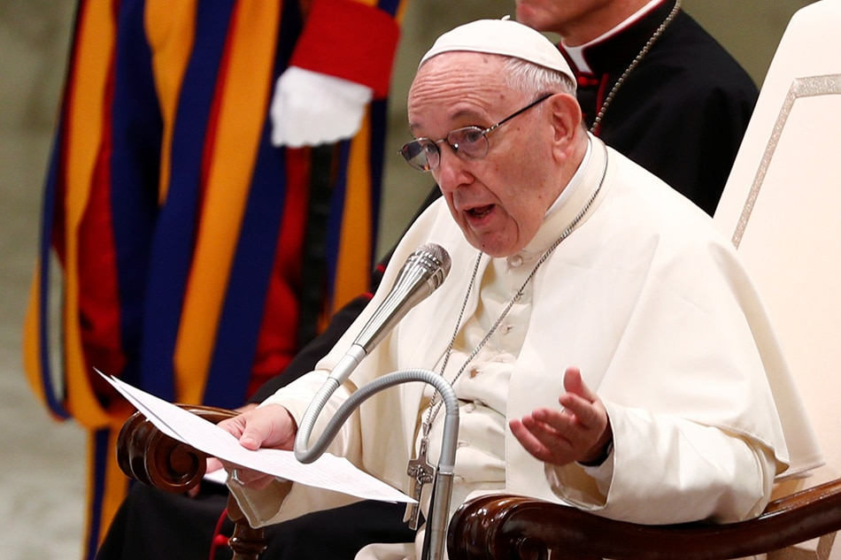 Pope Francis declares death penalty is 'inadmissible' in teaching reversal