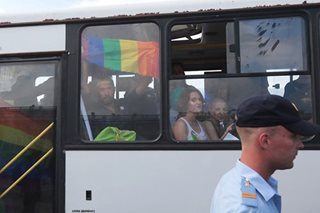 Police detain some 25 gay rights activists in Russia