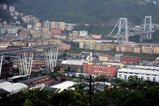 Italy motorway bridge collapses, 'dozens' feared dead