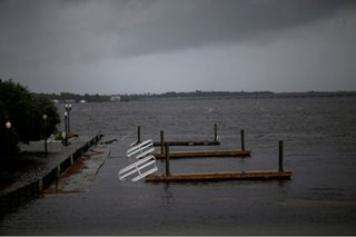 Gimme shelter: North Carolinians take refuge from Florence's fury