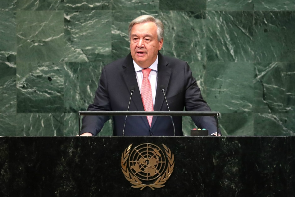 United Nations chief: 'Pivotal moment' for fighting global warming