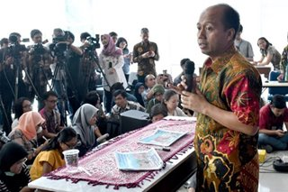 Dying of cancer, quake-hit Indonesia's disaster spokesman battles on