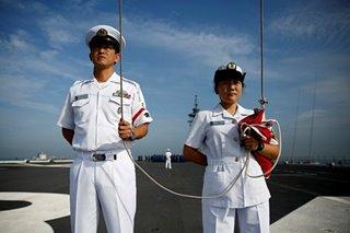 Japan's women sailors serve on frontline of gender equality