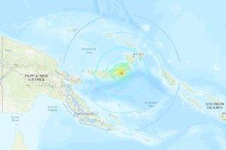 Tsunami threat cancelled after 7.0 quake hits PNG