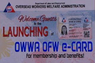 OFW e-card, inilunsad