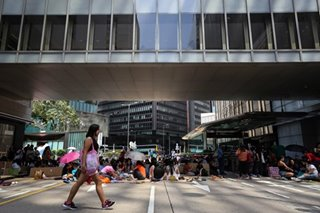 Hong Kong domestic helpers jump in deep end