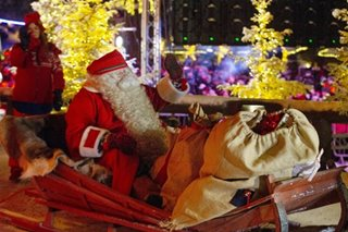 Santa begins Christmas journey from Lapland home