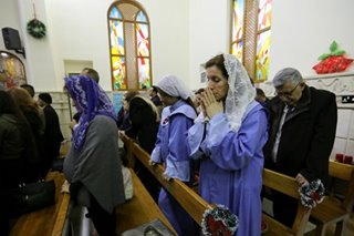 Iraqi Christians celebrate Christmas one year after Islamic State defeat