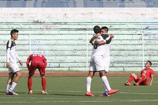 UAAP football: Ian de Castro's late winner propels UST to final 4