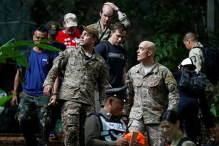 US forces, British divers join search for boys missing in Thai cave
