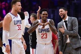 Williams, Griffin lead Clippers to easy win over Harden-less Rockets