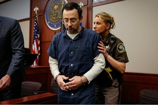 Abuse victims face convicted ex-USA Gymnastics doctor in court