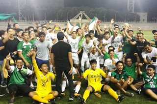NCAA: Saint Benilde tops Arellano to win men's football title