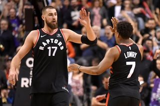Lowry, DeRozan lift Raptors past Spurs