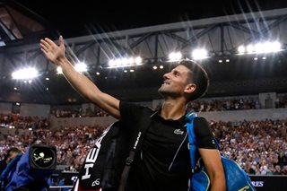 Tennis: Djokovic rolls by Ramos-Vinolas to reach fourth round