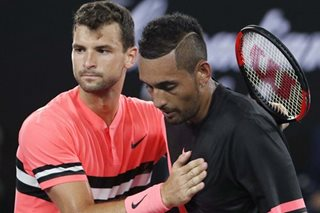 Tennis: Dimitrov stays cool to subdue Kyrgios in thriller