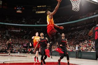 Mitchell, Jazz trounce Trail Blazers