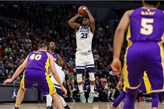 NBA: Timberwolves rally, send Lakers to third straight loss