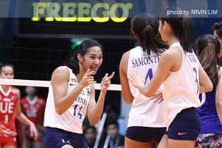 UAAP volleyball: Ateneo tops UE in 4 sets, takes second win