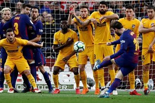 Messi gem lifts Barca eight points clear of Atletico