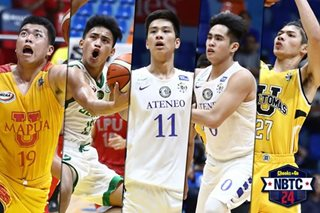 Sotto, Cagulangan top first-ever NBTC 24 rankings