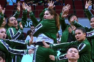 WATCH: La Salle takes second place with emoji-filled routine