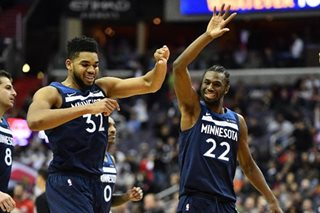 Wolves rally past Wizards