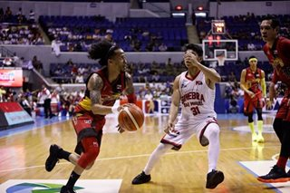 PBA: Chris Ross (thigh) sits out second half of San Miguel-Ginebra Game 3