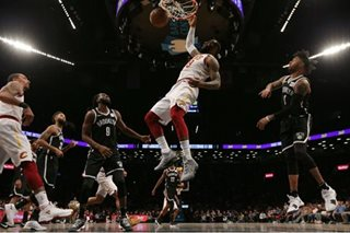 NBA: LeBron's monster game leads Cavs to rally over Nets