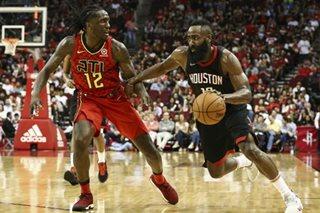 NBA: Harden's triple-double lifts Rockets to 9th win in row