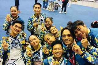 Adamson Pep Squad adds Asian gold to cheerdance accolades